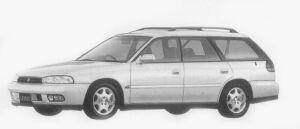 Subaru Legacy TOURING WAGON 250T 1996 г.
