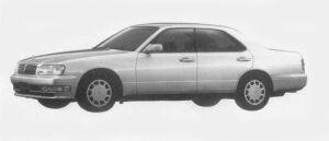 Nissan Cedric V20E BRAUHAM J 1996 г.
