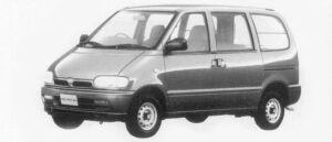 Nissan Serena CARGO 4DOOR LX (DIESEL 2000) 1996 г.