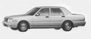 Nissan Cedric 4DOOR SEDAN V30E BRAUHAM VIP 1996 г.