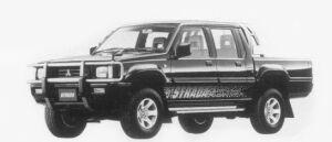 Mitsubishi Strada BLACK EDITION 1996 г.