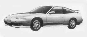Nissan 180SX TYPE X 1996 г.