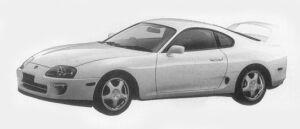 Toyota Supra SZ-R 1996 г.