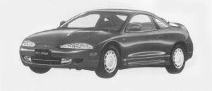 Mitsubishi Eclipse  1996 г.
