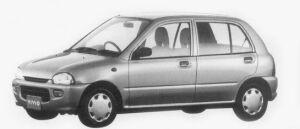 Subaru Vivio 5DOOR el-s 1996 г.