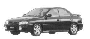 Subaru Impreza HARD TOP SEDAN HX-20S 1996 г.