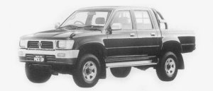 Toyota Hilux PICK UP 4X4 DOUBLE CAB SSR 1996 г.