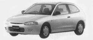 Mitsubishi Mirage 3DOOR G 1996 г.