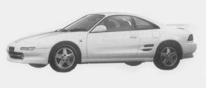 Toyota MR-2 GT-S 1996 г.