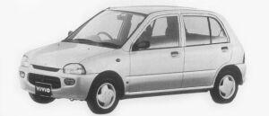 Subaru Vivio 5DOOR M300 1996 г.