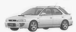 Subaru Impreza SPORTS WAGON WRX STi Ver.III 1996 г.