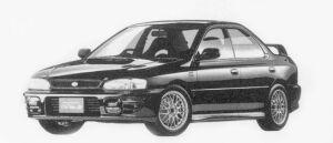 Subaru Impreza HARD TOP SEDAN WRX STi Ver.III 1996 г.