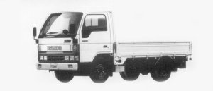 Mazda Titan 1.5T WIDE&LOW, STANDARD CAB&BODY 3.0L 1996 г.