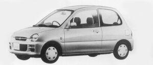 Mitsubishi Minica 3DOOR GUPPI 1996 г.