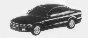Mitsubishi Galant VR-G EXCEED 1996 г.