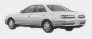Toyota Mark II 2.5 GRANDE G 1996 г.