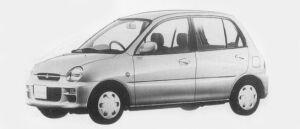 Mitsubishi Minica 5DOOR PJ 1996 г.