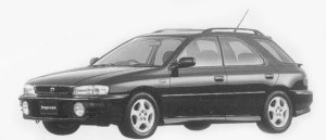 Subaru Impreza SPORTS WAGON HX-20S 1996 г.