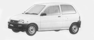 Daihatsu Mira TA 1996 г.