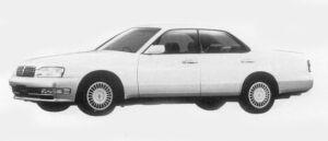 Nissan Cedric V30 TWINCAM TURBO BRAUHAM VIP 1996 г.