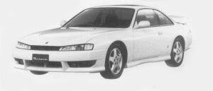 Nissan Silvia K'S AERO 1996 г.