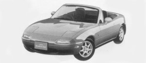 Mazda Eunos Roadster SPECIAL PACKAGE CAR 1996 г.