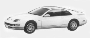 Nissan Fairlady Z VERSION S 2BY2 TBAR ROOF 1996 г.