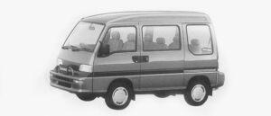 Subaru Domingo CV 1996 г.