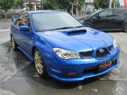 Subaru Impreza WRX 2006 года в Японии