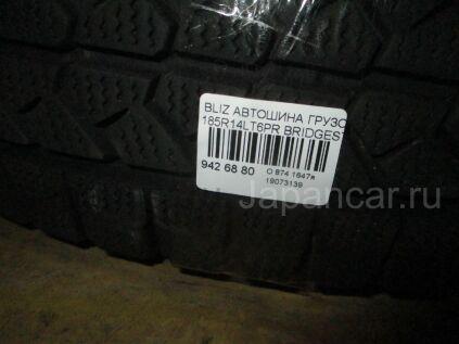 Зимние шины Bridgestone Blizzak vl1 185 146 дюймов б/у в Новосибирске