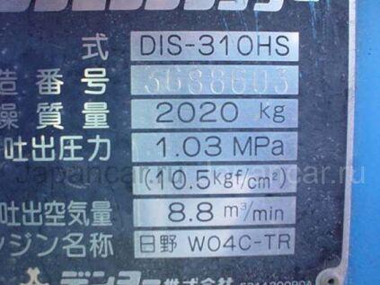 Компрессор DENYO DIS310HS 1998 года в Японии