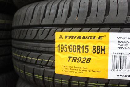 Летниe шины Triangle Tr928 195/60 15 дюймов новые в Хабаровске