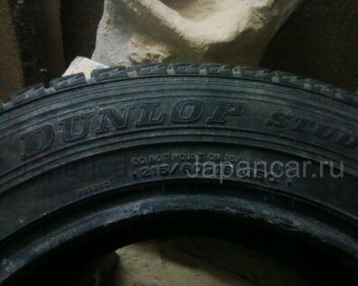 Зимние шины Dunlop 215/60 16 дюймов б/у в Барнауле