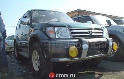 Туманки на Toyota Land Cruiser Prado во Владивостоке