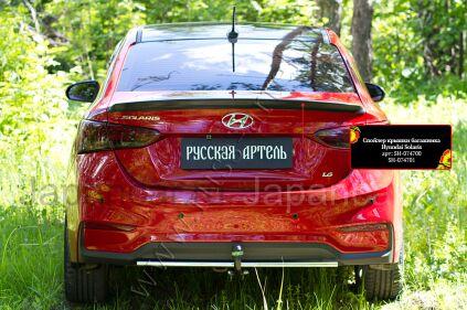 Спойлер на Hyundai Solaris во Владивостоке