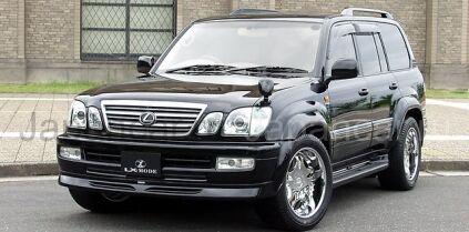 Передняя губа на Toyota Land Cruiser 100 во Владивостоке
