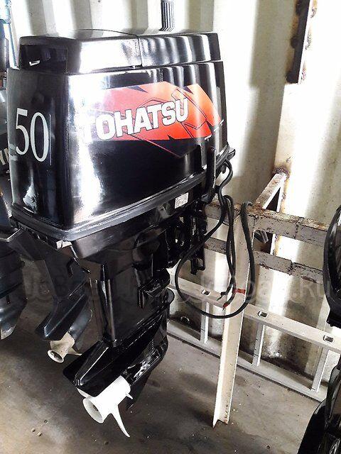 мотор подвесной TOHATSU M 50 2D EPTOS 2007 года