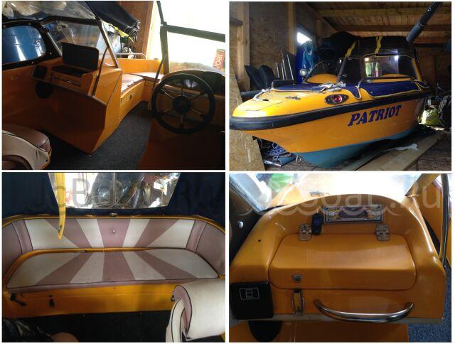 лодка Patriot 470 2005 года