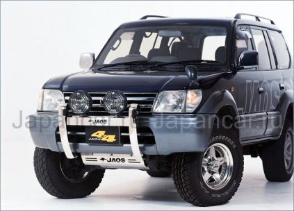 Защита картера на Toyota Land Cruiser Prado во Владивостоке