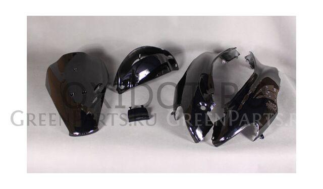 Разный пластик на HONDA dio af34 gil чёрный.