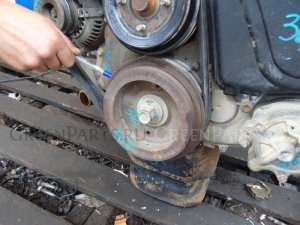 Шкив на Toyota Hilux Surf KZN185 1KZTE