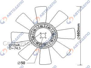 Вентилятор охлаждения HINO