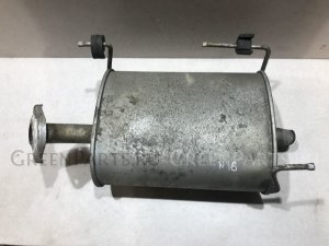 Глушитель на Nissan Almera