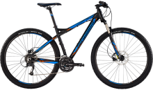 ВЕЛОСИПЕД 29 BERGAMONT REVOX 3.0 (BLACK-BLUE-ORANGE) (2015)