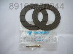 Фрикционные (тормозные) диски лебедки на TADANO TADANO