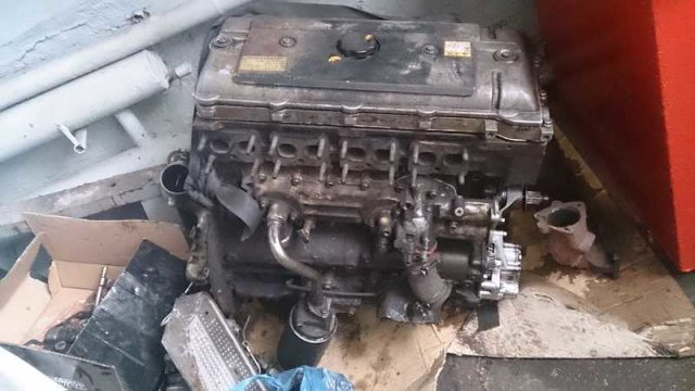 Двигатель на MITSUBISHI CANTER