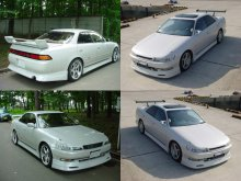 Комплект аэрообвесов Продам комплект обвеса на mark 90 TOYOTA MARK II