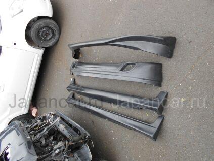 Накладка на бампер на Honda Fit во Владивостоке