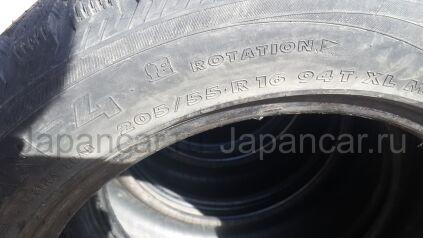 Зимние шины Nokian Nordman-4 205/55 16 дюймов б/у в Челябинске