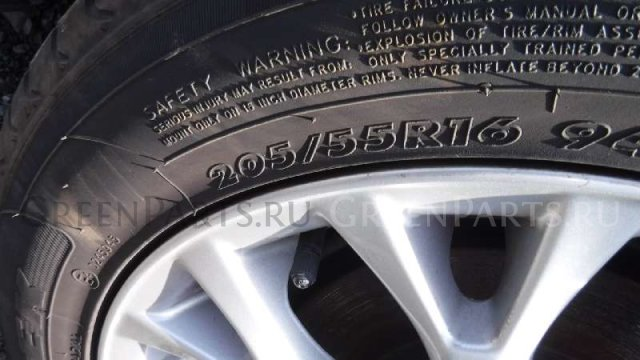 шины TOYOTA BLADE 0/55R16 летние на дисках R16